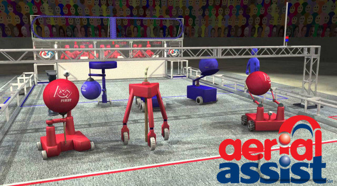 2014 FIRST Robotics Game Announced – Aerial Assist!